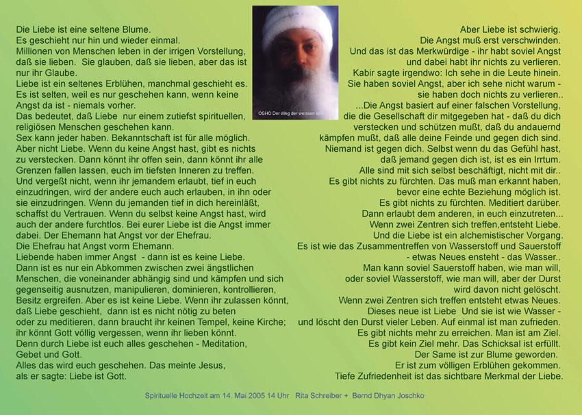 Osho Als Spiritueller Meister Gab Mir Wertvolle Einsichten